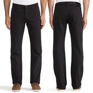 AG Jeans The Protege Straight Leg Sueded Sateen